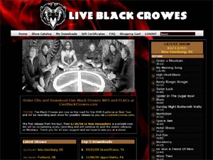 LIVE BLACK CROWES